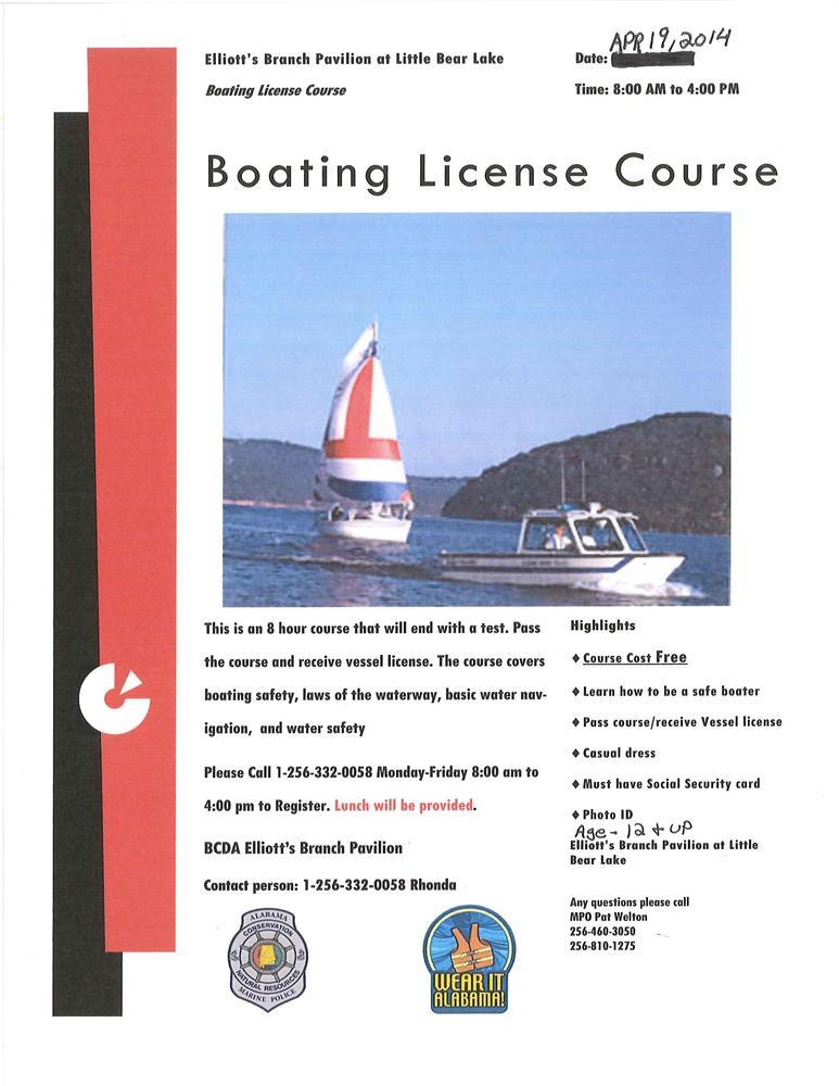 Boating License Course Cover